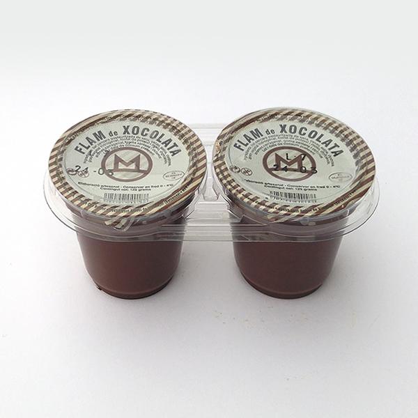 Flam Xocolata 2 x 125 gr