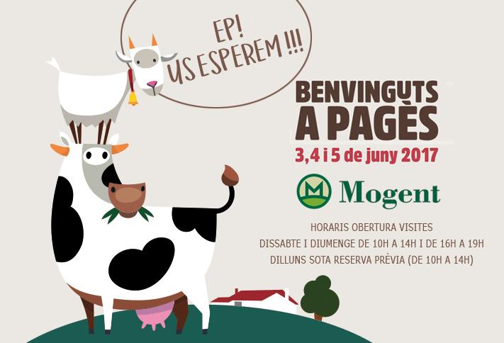 Benvinguts a pagès, benvinguts a Formatgeria Mogent